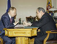 Šäjmijev a Putin